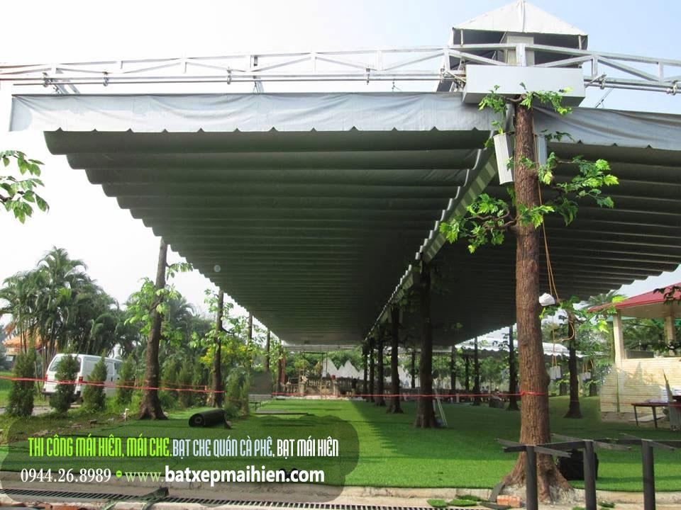 Mái Hiên Di Động Quán Cafe Cà Phê , Thi Công Lắp Đặt Báo Giá
