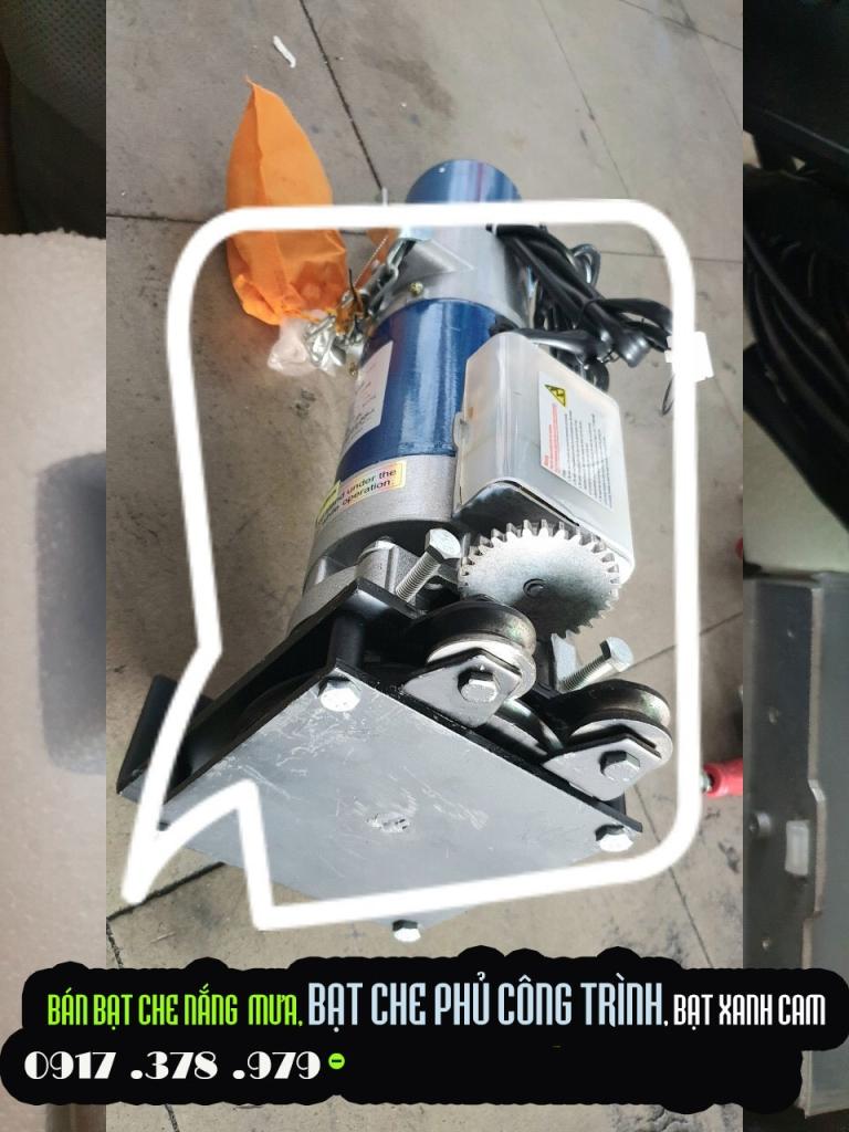 Cung cấp motor mái bạt cuốn mái bạt kéo xếp di động chính hãng Giá Rẻ