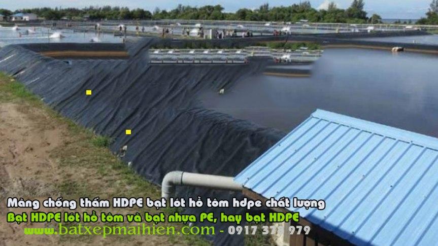 Bạt Lót Hồ Nuôi Tôm tại Sóc Trăng Giá Rẻ, Bạt Nhựa HDPE Lót Hồ Nuôi Tôm Cá SócTrăng