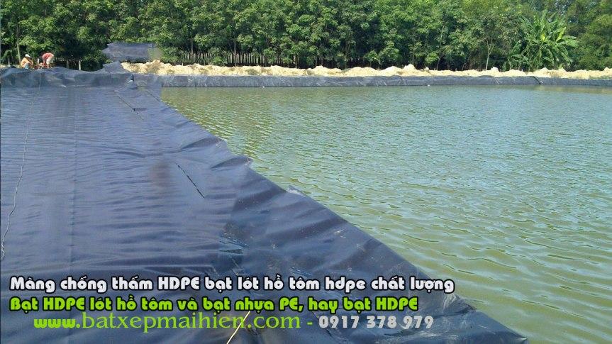 Bạt Nhựa HDPE Lót Ao Hồ Nuôi Tôm Cá, Bảng Giá Bạt Phủ Lót Ao Hồ Nuôi Thủy Sản, Bạt HPDE
