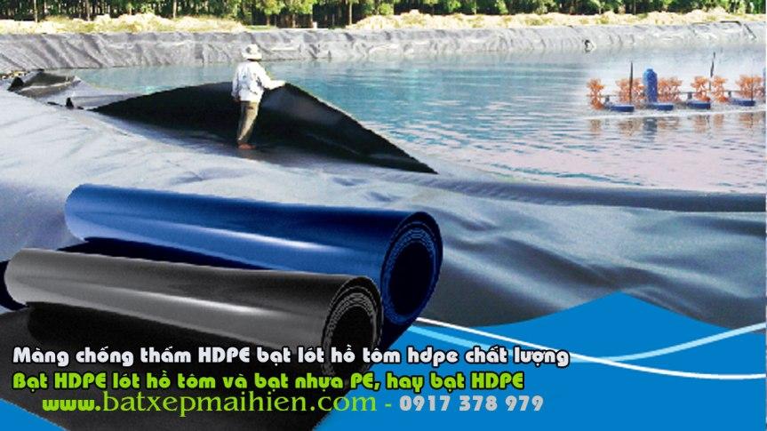 Bạt Lót Hồ Chứa Nước Lâm Đồng Bảo Lộc, Bạt Nhựa Chống ThấmHDPE