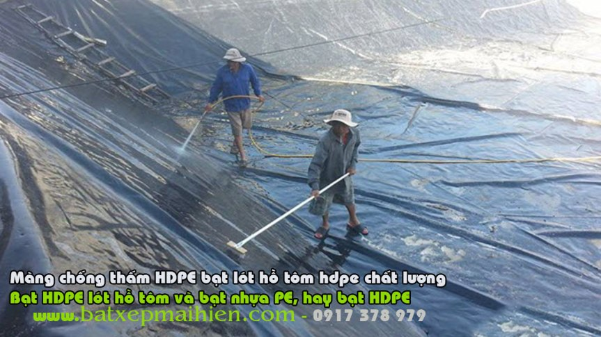 Bạt Nhựa HDPE Lót Ao Hồ Nuôi Tôm Cá, Bảng Giá Bạt Phủ Lót Ao Hồ Nuôi Thủy Sản, BạtHPDE